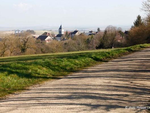 Paysage de Saint-Aubin Château-Neuf (Yonne)