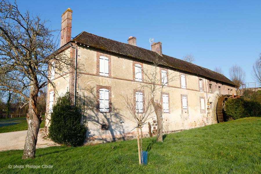 Moulin du Berceau - Saint Aubin Chateau Neuf