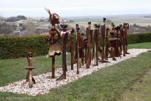 La Noce, sculpture Delagneau
