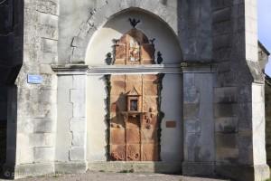 J.L.Doix et M. L. Trinquand, Mural Saint Léonard, Saint Aubin